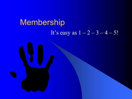 Membership Its easy as 1 – 2 – 3 – 4 – 5!. Introducing your Friends to DeMolay 1. Introduction (approach) 2. What is DeMolay? 3. Share a chapter related.