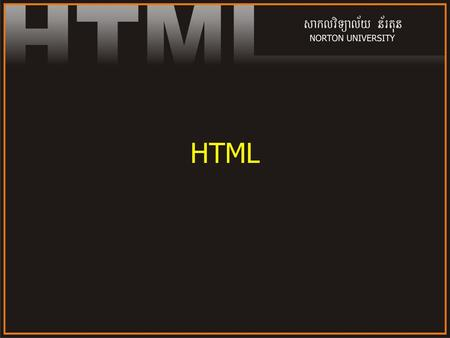 HTML. 2 World Wide Web WWW is a service internet The total set of interlinked hypertext documents residing on Web servers all around the world. Documents.