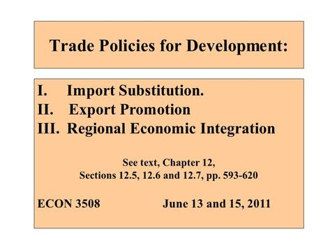 Multilateral trading system wto and regional integration
