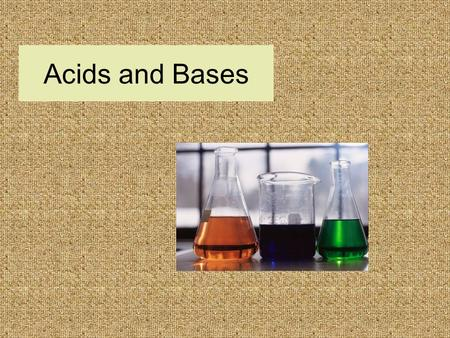 Acids and Bases. HA H + + A - HCL H + + CL - CH 3 COOH H + + CH 3 COO -