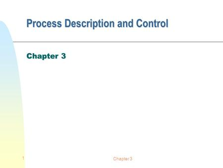 Chapter 3 1 Process Description and Control Chapter 3.