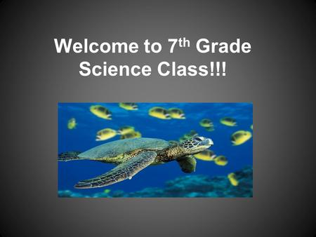 Welcome to 7 th Grade Science Class!!!. I am Mrs. McCoy!!!