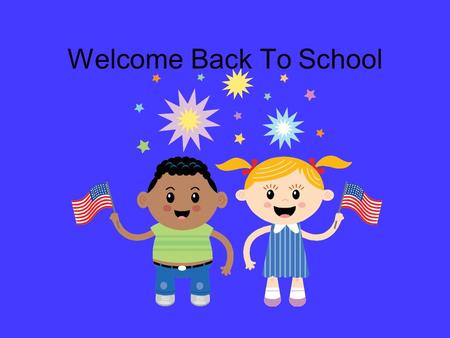 Welcome Back To School. Mission Statement The Mission of Alexander Elementary Magnet School is to engage family and community in a partnership with the.
