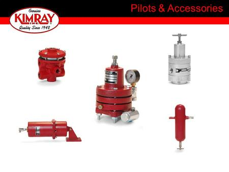 Pilots & Accessories. Signal Pilots Control Pilots Accessory Items Filters Drip Pots Instrument Regulators Shutter Controls.