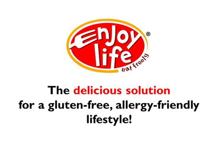 The delicious solution for a gluten-free, allergy-friendly lifestyle!