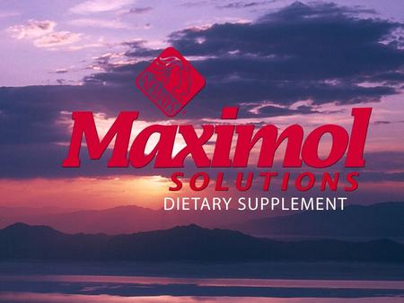 Maximol Solutions® is a nutrient-rich liquid formula that features a unique blend of essential minerals and vitamins, as well as fulvates for superior.