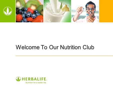 Welcome To Our Nutrition Club. 2 Who We Are Personal Wellness Coach We help people get healthy by: –Educating on proper nutrition –Improving eating habits.