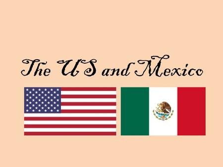 The US and Mexico. Mexican Revolution Diaz 1877 - 1884 Harsh rule, imprisonment, poverty Madero Mexican Revolution Mexican emigration Huerta Wilson would.