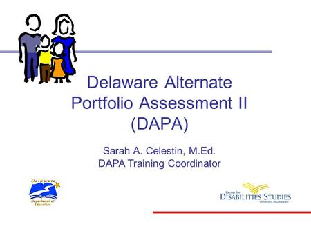 Delaware Alternate Portfolio Assessment II (DAPA)
