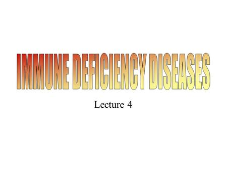 Lecture 4. Primary immune deficiency diseases. Lymphocyte development and sites of block in primary immune deficiency diseases. The affected genes are.