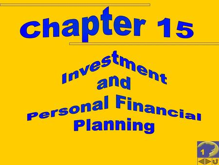 1. 2 INVESTMENT & PERSONAL FINANCIAL PLANNING (1 of 2) Business vs. investment activities Investments in financial assets Interest income Tax deferral: