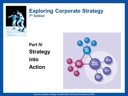 Exploring Corporate Strategy, Seventh Edition, © Pearson Education Ltd 2005 Exploring Corporate Strategy 7 th Edition Part IV Strategy into Action.