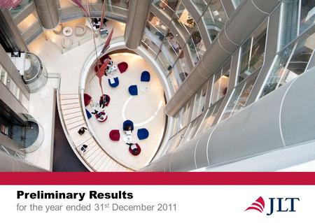 Preliminary Results for the year ended 31 st December 2011.