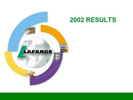 2002 RESULTS. 2 2002 A Year of Contrasts w Good growth of cash flow from operations: 17% w Successful reduction of debt by 1.5bn w Divestments realized.