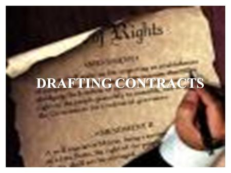 1. 2 One of my favorite books is Working With Contracts – What Law School Doesnt Teach You, by Charles M. Fox, a partner in the New York City law firm.