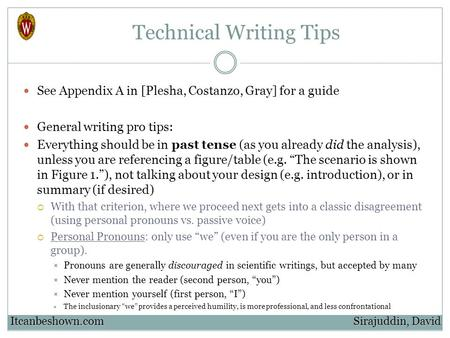 technical writing style guide Final/technical report style guide offers this style guide instructions in union • the abstract is written at a basic technical.