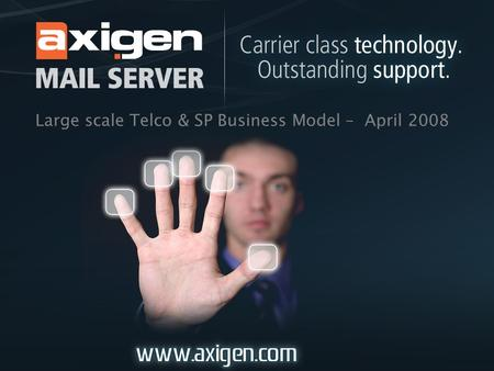 Large scale Telco & SP Business Model – April 2008.