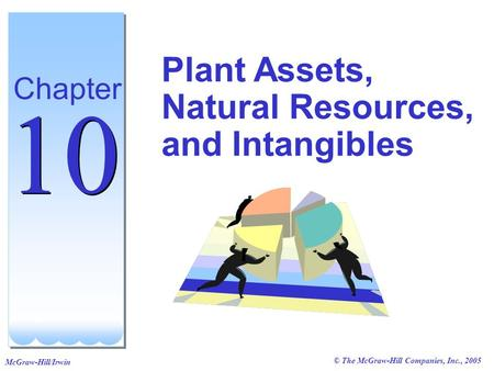 © The McGraw-Hill Companies, Inc., 2005 McGraw-Hill/Irwin Plant Assets, Natural Resources, and Intangibles Chapter 10.