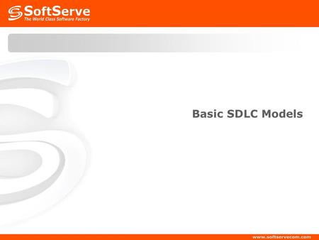 Basic SDLC Models. Agenda SDLC definition Waterfall SDLC V-Shape SDLC Spiral SDLC RUP SDLC Agile methods.
