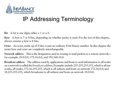 IP Addressing Terminology. Binary And Decimal Numbers Where do our numbers come from? Where do binary Numbers come from?