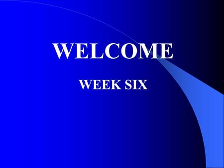 WELCOME WEEK SIX. 38 CFR 3.5 Dependency & Indemnity Compensation - DIC Monthly payment because of a service-connected death.