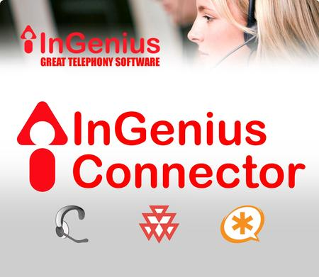 www.InGeniusConnector.com Search-and-Dial PC Application Searches Outlook®, LDAP, GoogleMaps®, Google® Supports Polycom® and Asterisk Incoming ScreenPop.