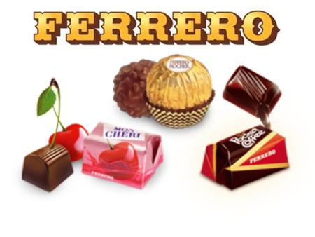 Name of the Company: Ferrero Founded in : (when) 1946 at Alba (IT) Founder is: Pietro Ferrero Type of company: Public Limited Company Location: head office.