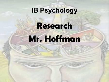 IB Psychology Research Mr. Hoffman. To be able to get new findings. To be able to critically analyze existing findings and find their flaws. Psychologists.