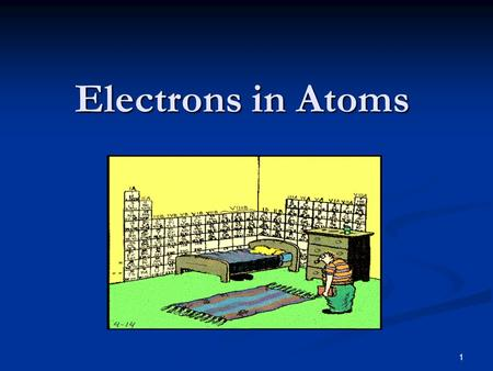 1 Electrons in Atoms. 2 Daltons Atomic Theory John Dalton (1766-1844) had four theories John Dalton (1766-1844) had four theories 1. All elements are.