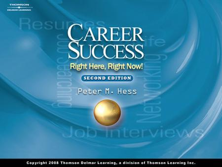 1. 2 Chapter 1 Success as a Path 3 Top Job Performance Skills Personal QualitiesFoundation Skills Resource SkillsInterpersonal Skills Information SkillsSystems.