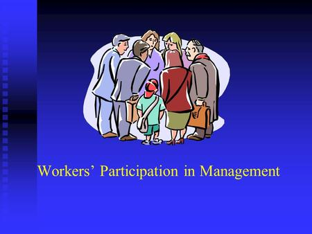 Workers Participation in Management. The Genesis Derived from a Latin word participare participation means sharing/taking part Derived from a Latin word.