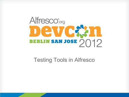 Testing Tools in Alfresco. About me Fran Álvarez Zaizi Iberia Director Keywords: ECM, Information retrieval, testing, semantic technologies