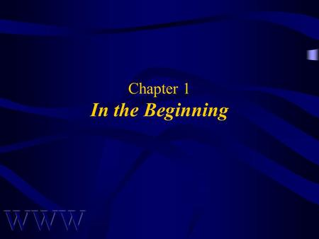 Chapter 1 In the Beginning. Awad –Electronic Commerce 1/e © 2002 Prentice Hall2 OBJECTIVES What is E-Commerce? Advantages & Limitations of E-Commerce.