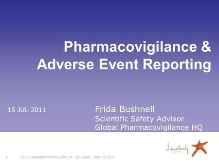 Pharmacovigilance & Adverse Event Reporting