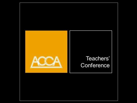 Teachers Conference Opening title slide. Highlight and overwrite dummy title. Restrict yourself to a maximum of 3 lines. This text is set to align at the.
