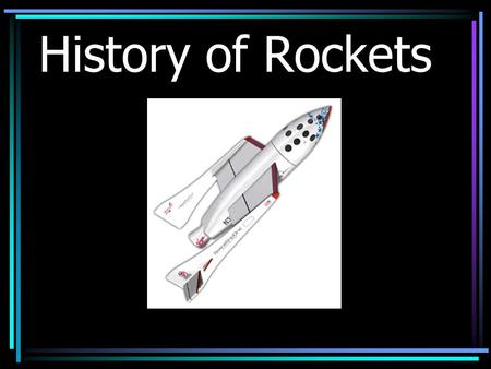 History of Rockets. Hero Engine Archytas – Wooden Pigeon Hero 0f Alexandria - Aeolipile.