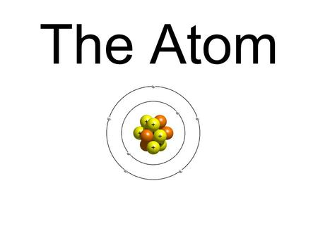 The Atom. Essential Question? Compare and contrast the characteristics of an atom and function of these characteristics in an atom?