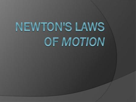 Sir Isaac Newton (1643-1727) an English scientist and mathematician famous for his discovery of the law of gravity also discovered the three laws of.