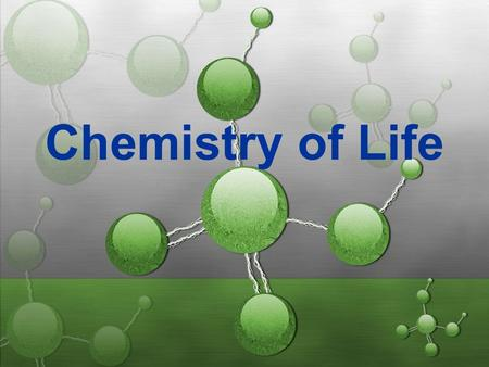 Chemistry of Life. Matter Anything that has mass and takes up space. 3 types of matter: a). Solid b). Liquid c). Gas.