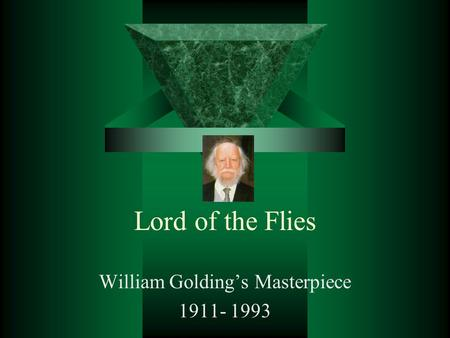 "an analysis of the personifications in the lord of the flies by william golding The present research attempts to study the use of simile in william golding""s  novel, lord of the flies it tries to shed light on the author""s motives behind the."