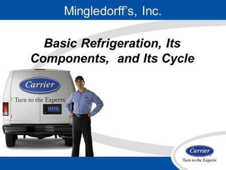 Basic Refrigeration, Its Components, and Its Cycle