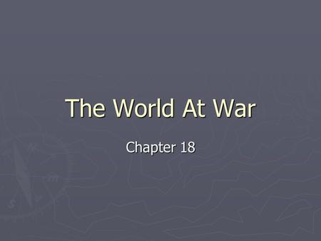 The World At War Chapter 18. On the Rise in 1914 POSITIVES -Steel, Coal, Iron were making large profits -Selling goods around the world -Automobiles.