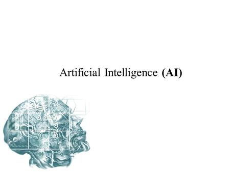 Artificial Intelligence (AI). Machine learning (MI) Varieties of Machine learning: Function analysis: Grammars Finite – State machines Logic problems.
