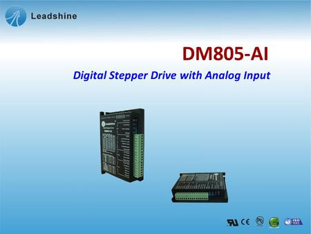 Digital Stepper Drive with Analog Input DM805-AI.