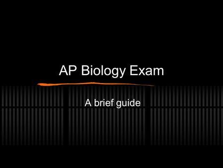 college board ap biology essays 2000