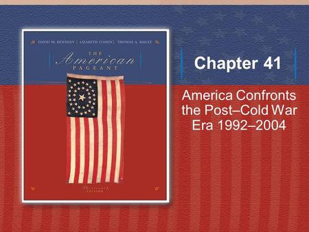 Chapter 37 - The Eisenhower Era, 1952-1960