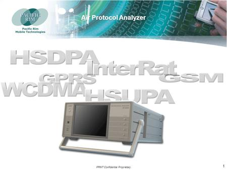 AP-6000. PRMT Confidential Proprietary 1 2 Main Characteristics & Benefits.