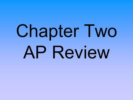 Chapter Two AP Review. 1. What was the MAIN reason the Spanish Crown established the encomienda system? A. to reward settlers for bringing the Crown so.