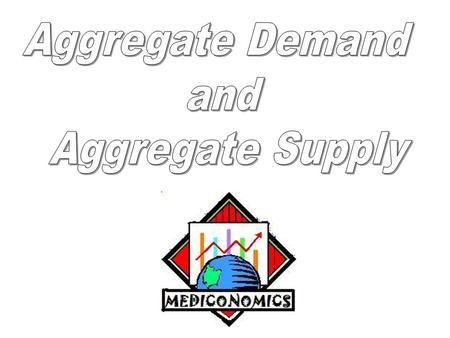 Aggregate Demand and Aggregate Supply.