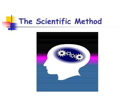 The Scientific Method. Steps of the Scientific Method The Scientific Method is used by all Scientists The Scientific Method is made up of many parts called.